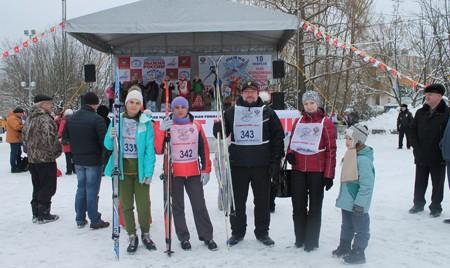 Сотрудники предприятия «Брянсксельмаш» вышли на старт гонки «Лыжня России»