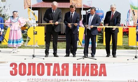 Вице-губернаторы Кубани оценили работу предприятия «Брянсксельмаш» на выставке «Золотая нива»