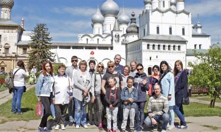 Сотрудники «Брянсксельмаша» совершили корпоративный тур по «Золотому кольцу»