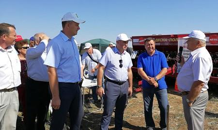 Аграрии Ставропольского края оценили в работе сеялку от «Брянсксельмаша»