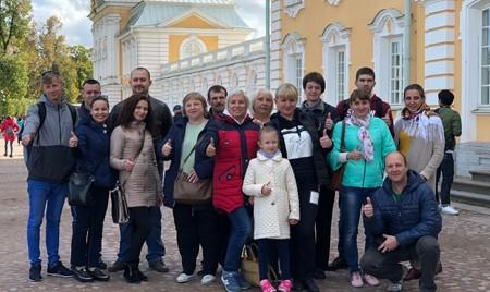 Сотрудники «Брянсксельмаша» совершили увлекательную поездку в Санкт-Петербург