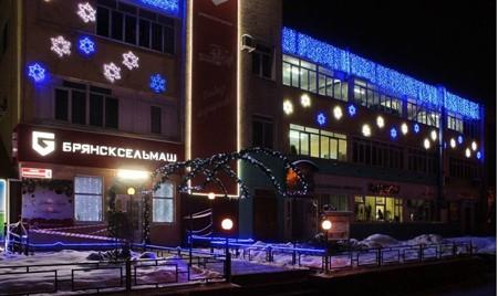 Жители Фокинского района отдали предпочтение новогоднему убранству «Брянсксельмаша»