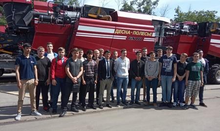 Студенты БГАУ побывали на предприятии «Брянсксельмаш»