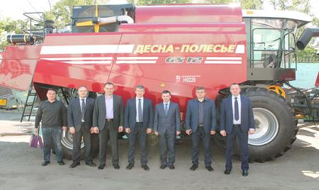 Министр сельского хозяйства Пензенской области посетил «Брянсксельмаш»